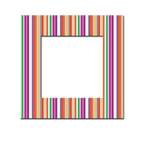 colorful picture frames colourful striped frame free stock photo domain