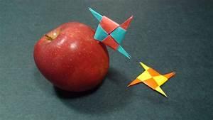 Comment Faire Une étoile En Papier : comment faire une toile de ninja pointu papier origami ~ Nature-et-papiers.com Idées de Décoration