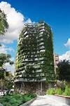 Green Side-Wall in Barcelona, Spain by Capella Garcia vertical garden in barcelona