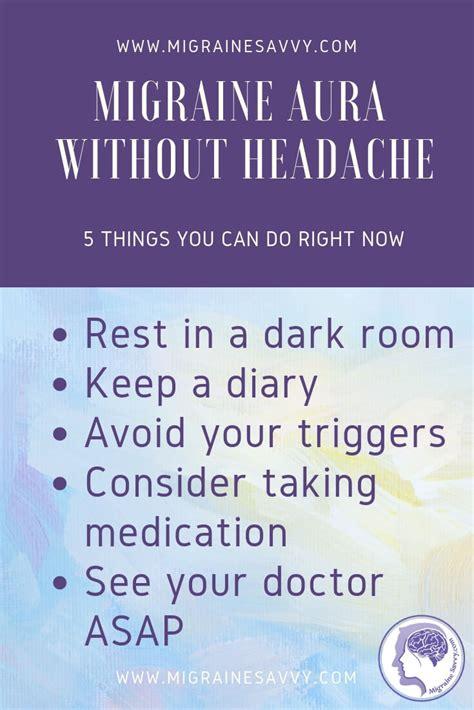 migraine aura  headache