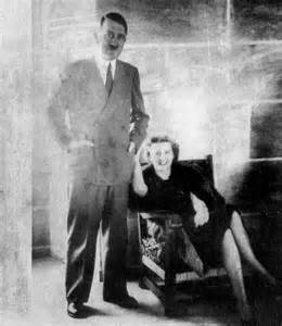 Adolf Hitler and His Wife