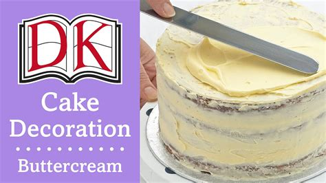 cake decorating buttercream frosting youtube