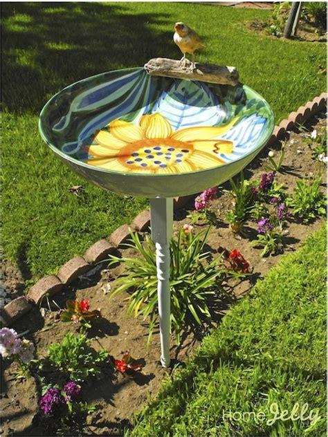 20 lovely diy bird bath ideas to attract birds to yard