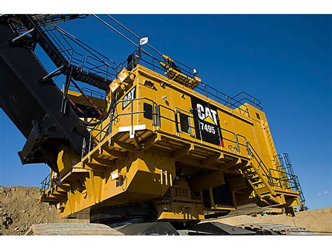 electric rope shovel finning cat