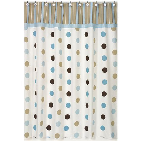 navy blue and white polka dot curtain for shower useful