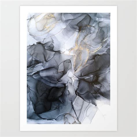 Calm But Dramatic Light Monochromatic Black And Grey