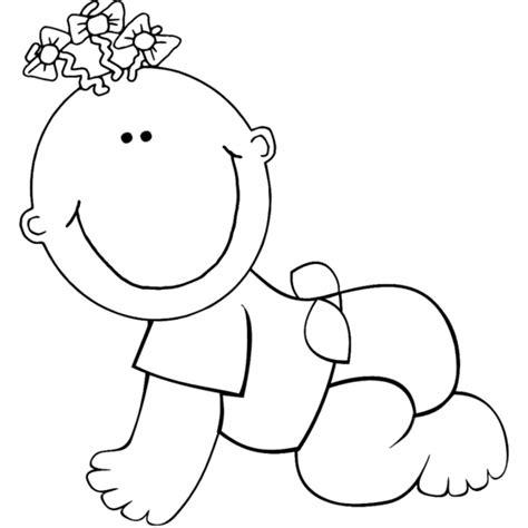 disegni per neonati da colorare disegno di neonato da colorare per bambini