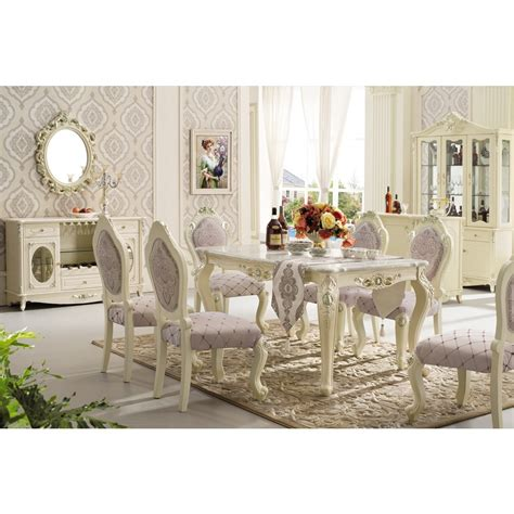 rectangle pedestal classic italian dining room sets marble