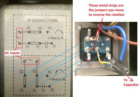 Wiring How Wire Single Phase Electric Blower
