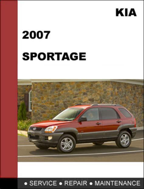 car repair manual download 2008 kia sportage navigation system kia sportage 2007 oem service repair manual download download man