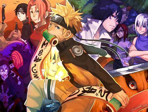 scroll  memories naruto uzumaki daily anime art