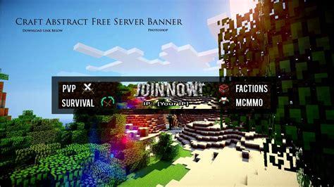 minecraft server banner template