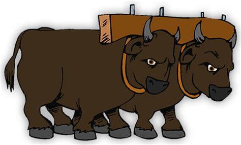 oxen clipart clipground