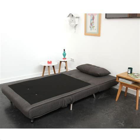 canapé lit compact chauffeuse 1 place banquette convertible murphy par drawer