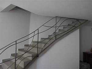 Rampe D Escalier Moderne : garde corps escalier interieur design lj69 jornalagora ~ Melissatoandfro.com Idées de Décoration