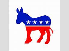 Democratic Donkey logo vector Download free