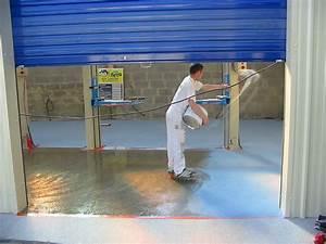 Resine Sol Garage : bretagne resine ~ Edinachiropracticcenter.com Idées de Décoration