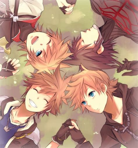 Sora Roxas Ventus And Vanitas Kingdom Hearts Pinterest