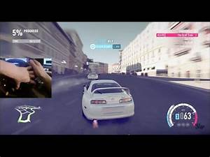 Fast and Furious FH2 NOS Drifting Online w/Thrustmaster ...