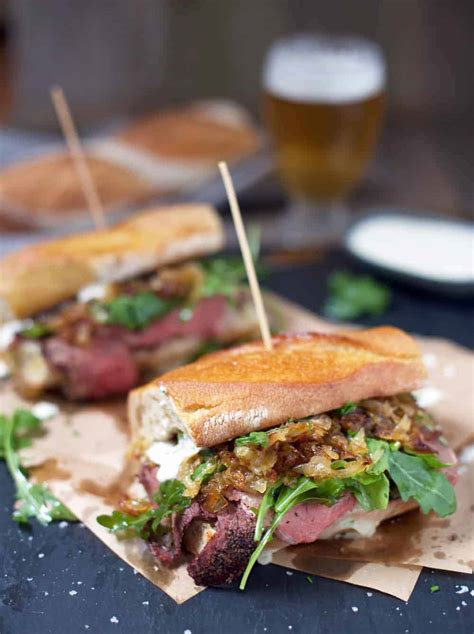 Breakfast hash recipe with leftover prime rib. Prime Rib Steak Sandwiches - Vindulge