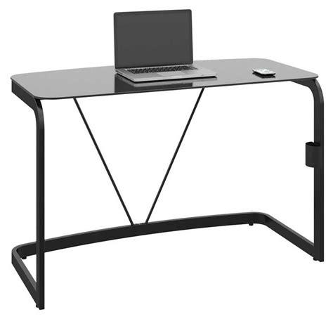 black metal desk chair high gloss office furniture for a great sense of light