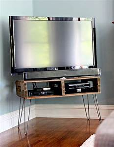 13 diy plans for building a tv stand guide patterns With homemade tv furniture