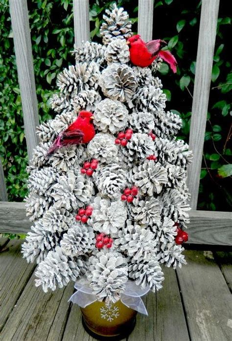 pretty pine cone tree craft allfreechristmascraftscom