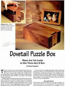 Puzzle Box Plans • WoodArchivist