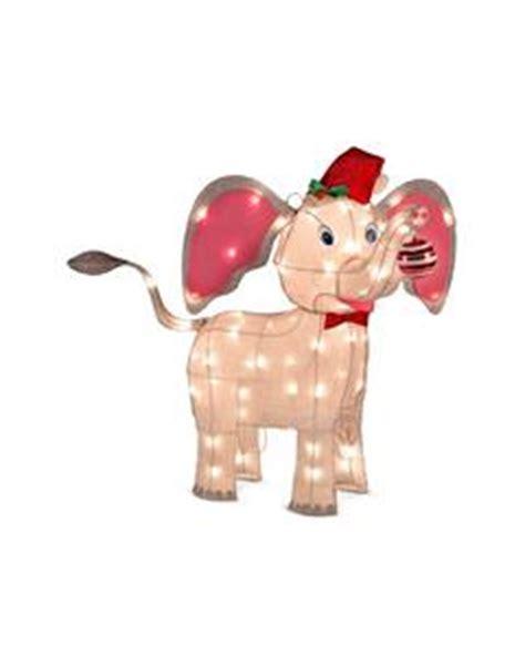 sale pre lit jungle animal elephant sculpture outdoor