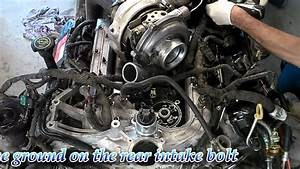 6 0 Liter Ford Powerstroke - Engine Reassembly For Cab Installation Hd