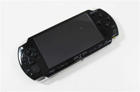 Sony Psp 2000 Black System Discounted