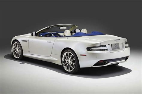 Q By Aston Martin Reveals Db9 Volante Morning Frost
