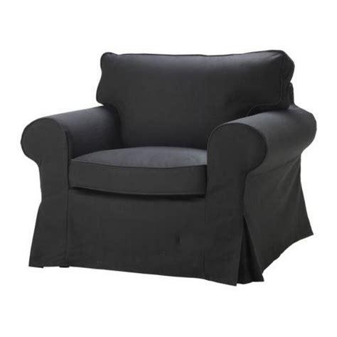 Ikea Ektorp Chair Cover by Ikea Ektorp Armchair Slipcover Idemo Black Chair Cover