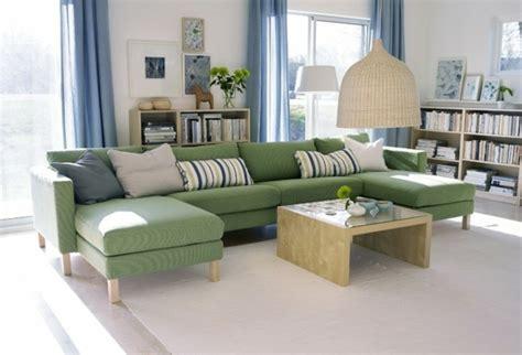 canape ikea vert comment choisir le mobilier de salon idées et astuces