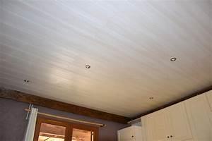 Lambris Pvc Pour Plafond : plafond en lambris pvc pour cuisine gconcept 39 r ~ Dailycaller-alerts.com Idées de Décoration