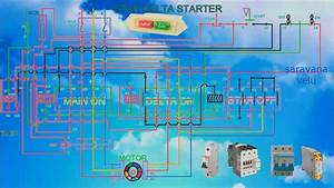 Wiring Dol Starter Motor Star Delta Manual Diagram