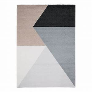 tapis beau cosy tissu melange gris taupe 140 x 200 With tapis gris taupe