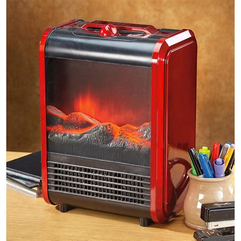 Mini Fireplace Portable Electric Heater 652072 Home