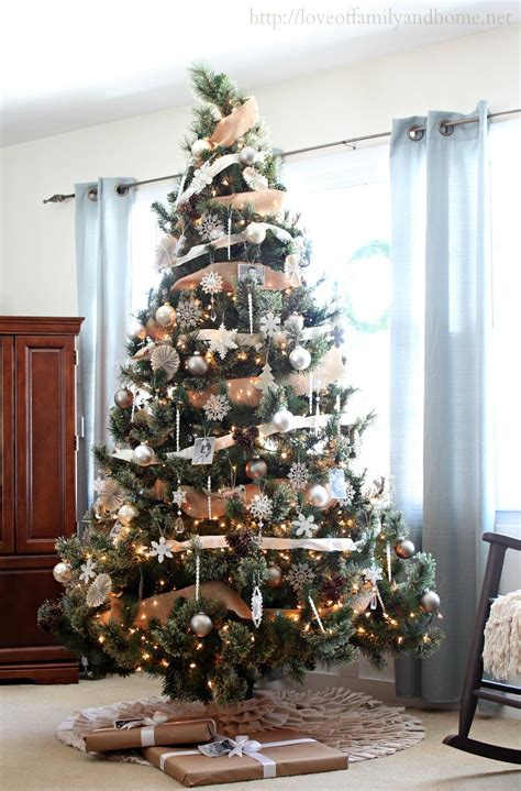 rustic christmas trees neutral rustic glam christmas tree love of family home