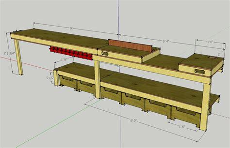 callsignktf plans   custom garage workbench