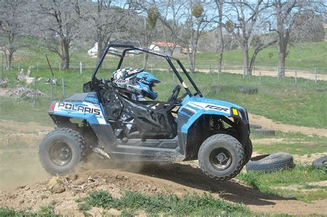 polaris ranger rzr 170 dirt wheels magazine mini utv test 2016 polaris rzr 170