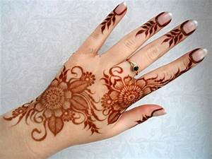 Simple Arabic Shaded Mehendi Designs New Designs For Hands