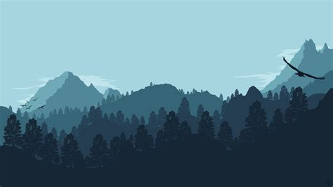 forest mountain  ultra hd wallpaper background image
