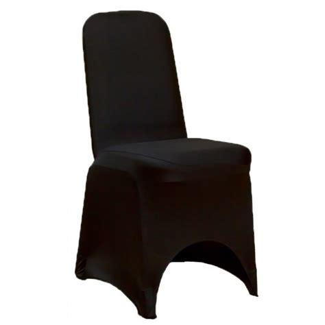 housse de chaise pour mariage housse de chaise mariage en lycra noir housse de chaise