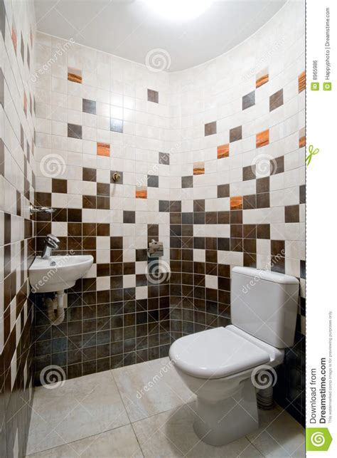 Simple toilet room stock photo. Image of composition