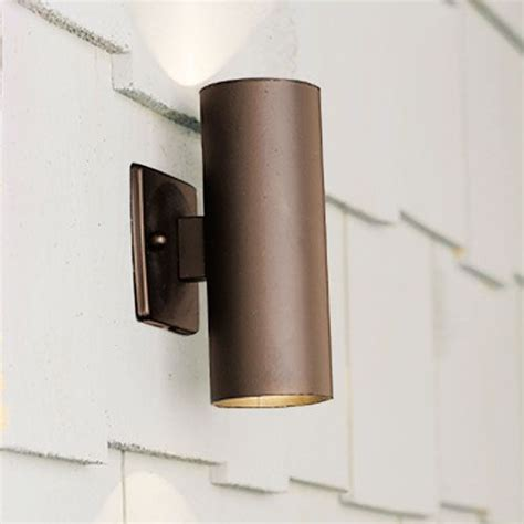 textured architectural bronze up accent light kichler