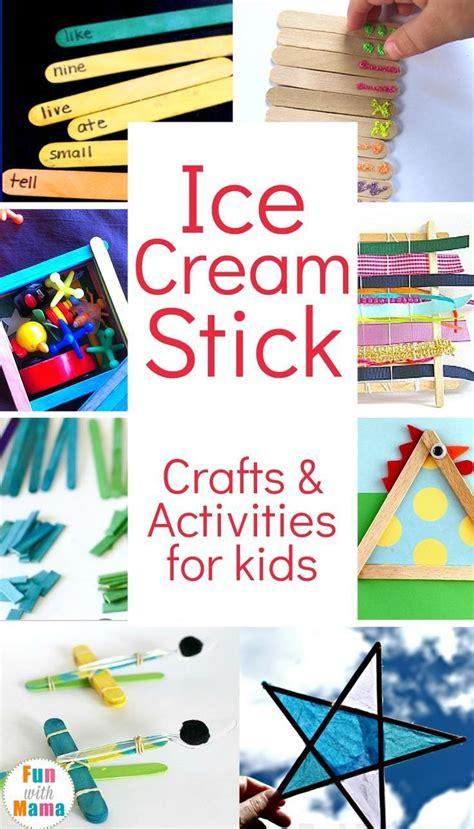 ice cream craft ideas  kids ice cream crafts ice