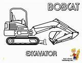 Coloring Excavator Bobcat Plow Snow Yescoloring Coloriage Construction Lego Pelleteuse Tractors Imprimer Truck Printable Pelle Dessin Politie Kleurplaat Kleurplaten Divyajanani sketch template