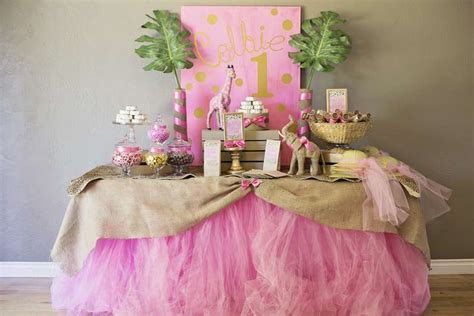 Burlap Baby Shower Banner by Safari Birthday Party Pink Jungle Party Ideas