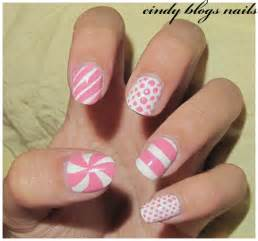 Cindy s nails notd white and pink nail art